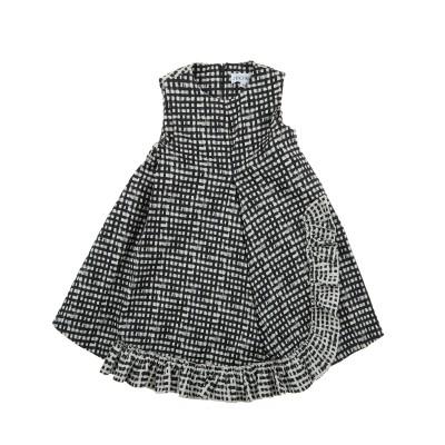 Graphic print sleeveless dress