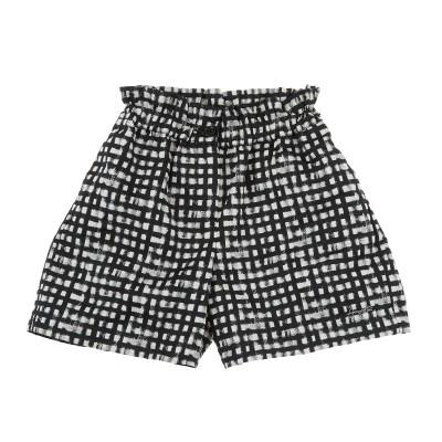 Grid-print shorts