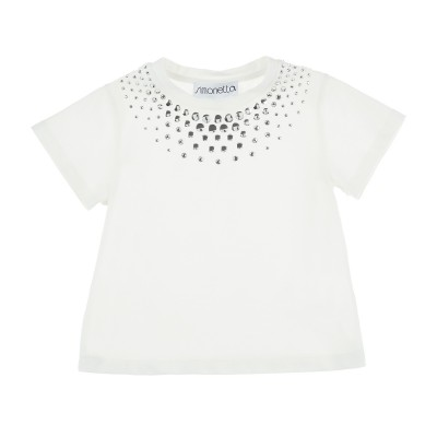 T-shirts with studded
