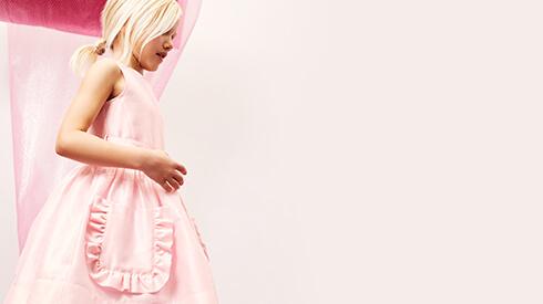 Abiti bambine rosa