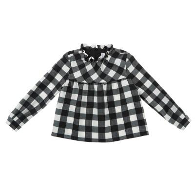 Camicia misto lana